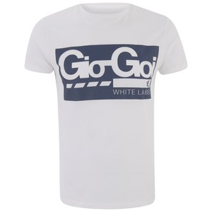 Gio-Goi Men's Blast T-Shirt - White
