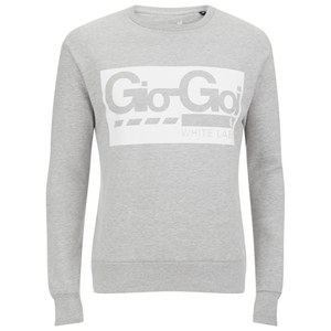 Gio-Goi Men's White Label Crew Sweatshirt - Grey Marl