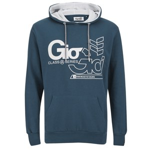Gio-Goi Men's Decker Hoody - Majolica Blue
