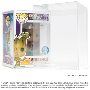 Ultimate Guard Protective Case for Funko Pop! - 25 pack