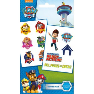 Paw Patrol Characters - Tattoo Pack