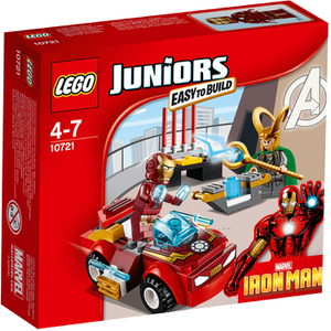 LEGO Juniors: Super Heroes Iron Man Vs. Loki (10721)