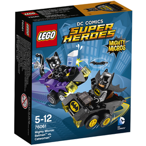 LEGO DC Vs. Marvel: Mighty Micros: Batman™ vs. Catwoman™ (76061)