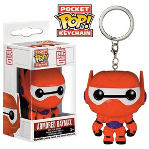 Big Hero 6 Armored Baymax Pocket Pop! Llavero