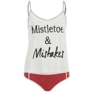 MINKPINK Women's Mistletoe and Mistakes Pyjama Set - Multi