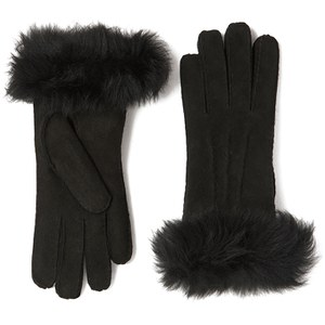 UGG Women's Classic Collection Toscana Long Cuff Gloves - Black