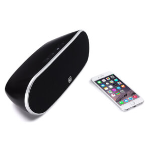 Kitsound Slam Universal Portable Bluetooth 12W Speaker - Black