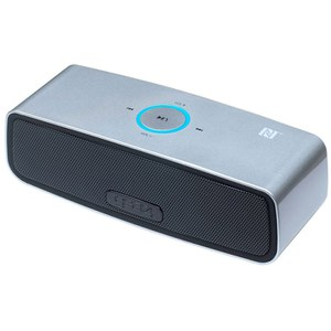 GEAR4 HouseParty Mini Wireless Bluetooth Speaker - Silver
