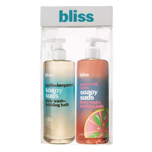 bliss Soapy Suds Bath Duo (Worth £33.00)