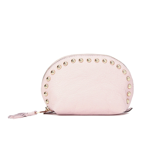 Rebecca Minkoff Women's Dome Pouch Cosmetic Case with Studs - Baby Pink