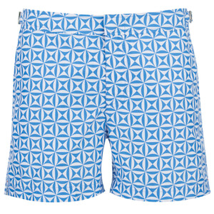 Orlebar Brown Men's Setter Tamanu Swim Shorts - Riviera