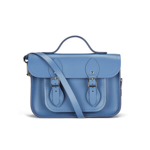 The Cambridge Satchel Company Women's 11 Inch Magnetic Batchel - Dusk Blue