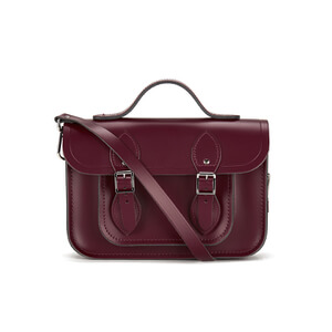 The Cambridge Satchel Company Women's 11 Inch Magnetic Batchel - Oxblood