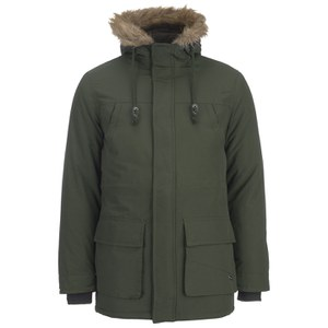 Le Shark Men's Radley Faux Fur Trimmed Parka - Woodland Khaki