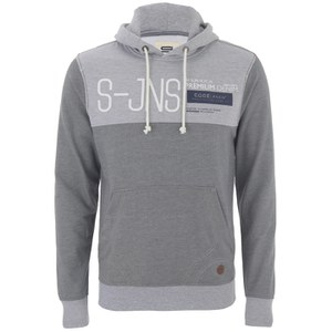 Smith & Jones Men's Halesworth Hoody - Light Grey Marl