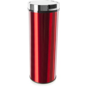Morphy Richards 974140 Round Sensor Bin - Red - 50L