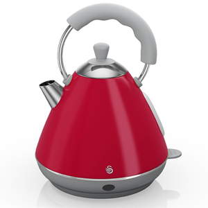 Swan SK261030RN Pyramid Kettle - Red - 2L