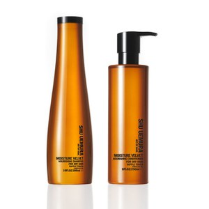 Shu Uemura Art of Hair Moisture Velvet Shampoo (300ml) and Conditioner (250ml)