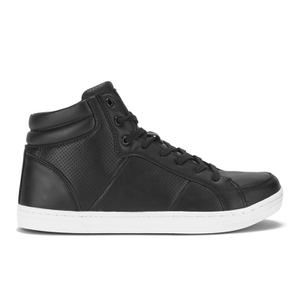 Crosshatch Men's Kungsleden Hi Top Perf Trainers - Black