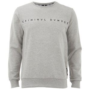 Criminal Damage Men's Gala Sweatshirt - Grey