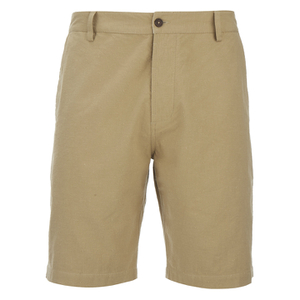 Universal Works Men's Slub Japanese Cotton Deck Shorts - Camel