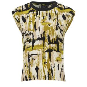 VILA Women's Viarty Short Sleeve Blouse - Amber Green