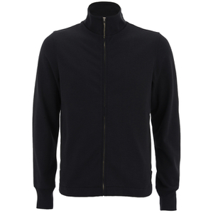 Paul Smith Jeans Men's Zipped Track Top - Black