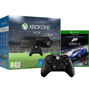 Xbox One 500GB Console - Includes FIFA 16 & Forza Motorsport 6 + Extra Wireless Controller