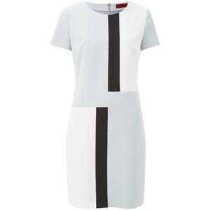 HUGO Women's Karaya Dress - Light/Pastel Grey