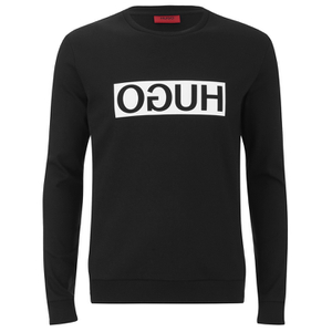 HUGO Men's Dicago Crew Neck Sweater - Black
