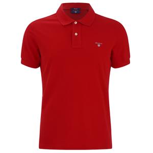 GANT Men's Original Pique Polo Shirt - Bright Red