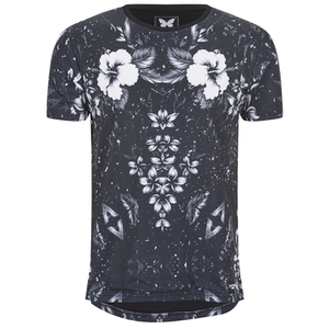 Good For Nothing Men's Botanic T-Shirt - Black
