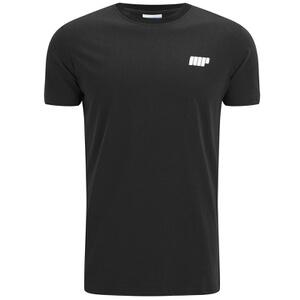 Myprotein Men's Longline Short Sleeve T-Shirt - Black (USA)