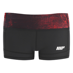 Myprotein Dames Power Shorts - Rood Beton
