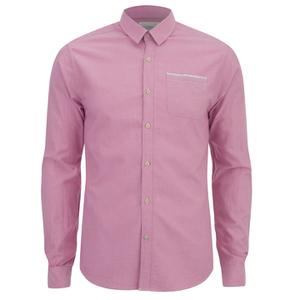 Scotch & Soda Men's Oxford One Pocket Shirt - Pink