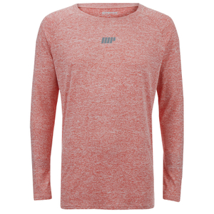 Myprotein Men's Long Sleeve Loose Fit Training Top - Pink