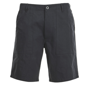 Maison Kitsuné Men's Cotton Worker Shorts - Black