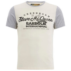 Barbour X Steve McQueen Men's Vin T-Shirt - Neutral