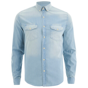 Barbour X Steve McQueen Men's Steven Shirt - Bleach Wash
