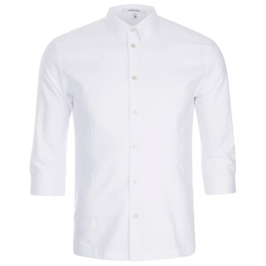 Carven Men's 3/4 Sleeve Shirt - White