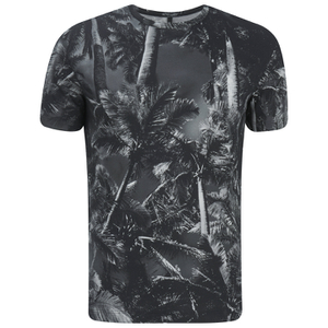 Versus Versace Men's All Over Print T-Shirt - Grey