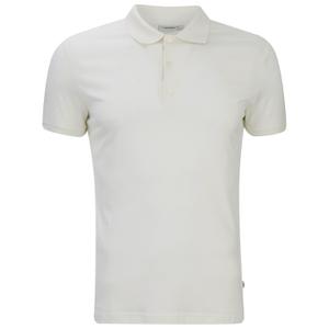J.Lindeberg Men's Short Sleeve Polo Shirt - White