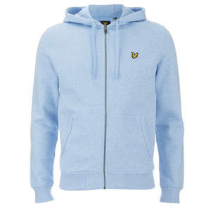 Lyle & Scott Vintage Men's Zip Through Hoody - Blue Marl