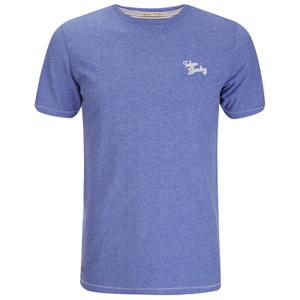 Tokyo Laundry Men's Essential Crew T-Shirt - Cornflower Blue Marl