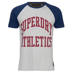 Superdry Men's Team Tigers Raglan T-Shirt - Ice Marl