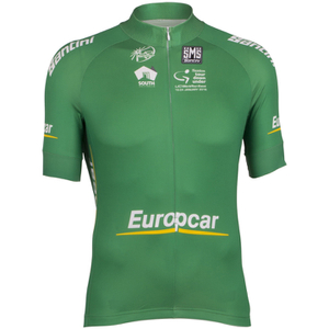 Santini Tour Down Under Best Young Rider Short Sleeve Jersey 2016 - Green