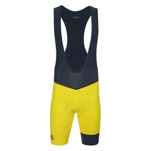 Le Coq Sportif Performance Premium N2 Bib Shorts - Yellow