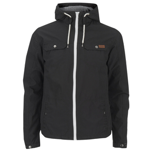 Produkt Men's Contrast Zip Hooded Jacket - Black