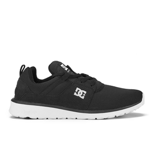 DC Shoes Men's Heathrow Mesh Trainers - Black/White