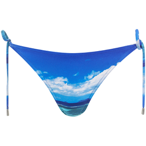 Orlebar Brown Women's Nicoletta Hulton Getty Mustique Mystique Bikini Top - Blue